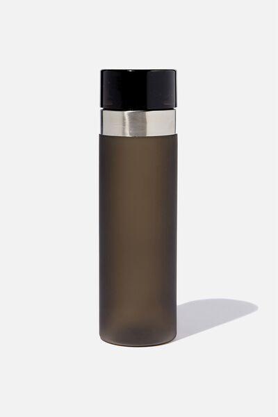 Water Bottle, BLACK