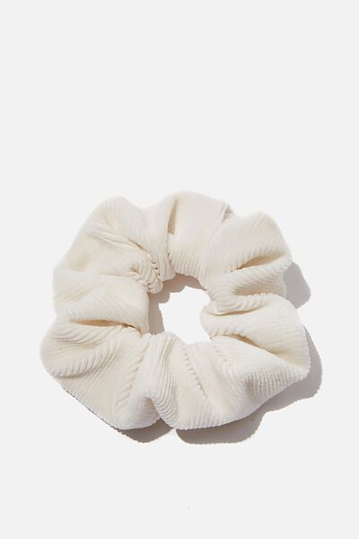 So Me Scrunchie, WHITE MINI CORD