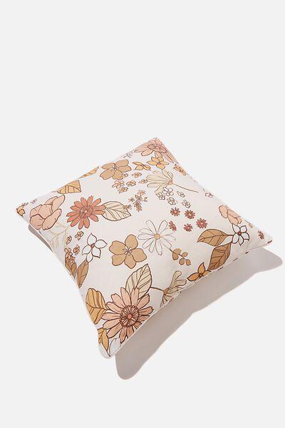 Printed Cushion, FLORAL