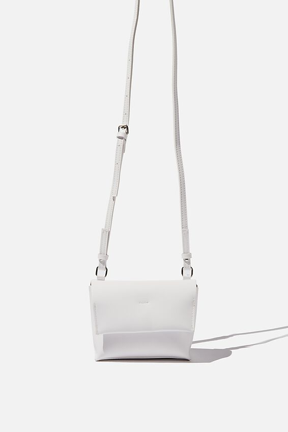 Whit Cross Body Bag, WHITE