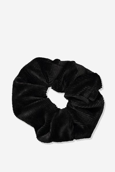 Luxe Scrunchie, BLACK MINI CORD