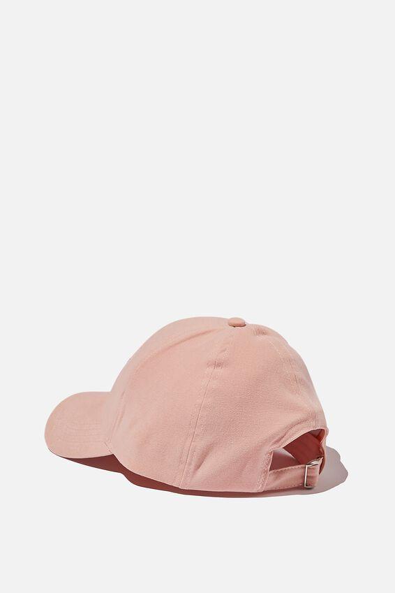 Hailey Structured Cap, BLUSH/1982