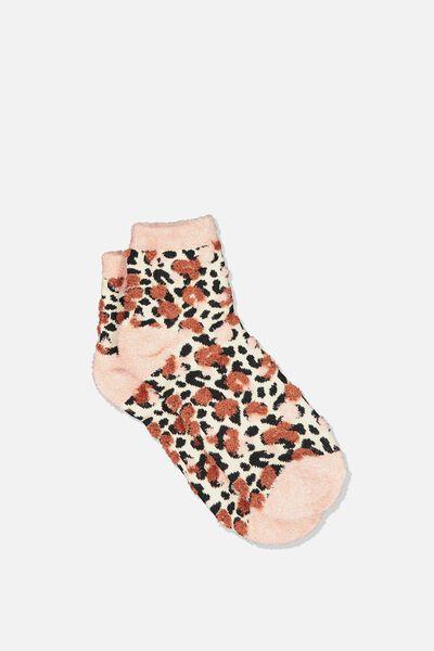 Fun Sock, LAYERED LEOPARD