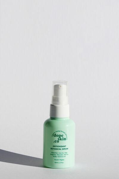 Dope Skin Co Antioxidant Botanical Facial Serum, NOURISH AND BRIGHTEN