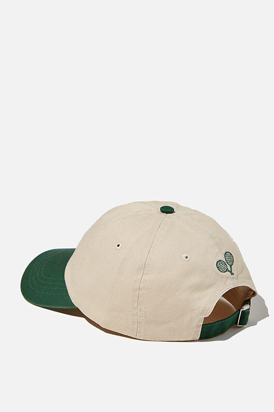 Classic Dad Cap, HERITAGE GREEN/RACQUET CLUB