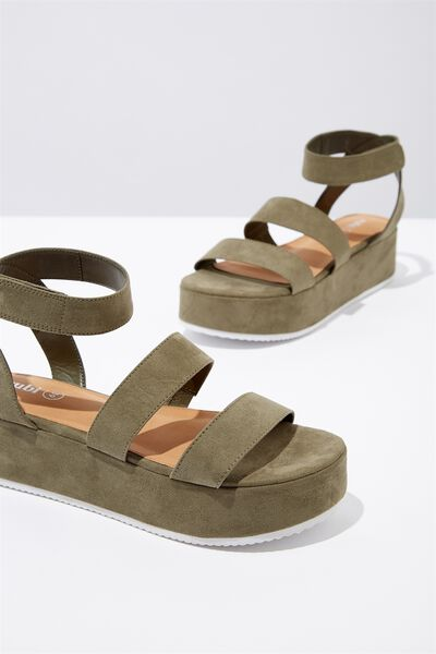 Canterbury Flatform, LIGHT KHAKI MICRO