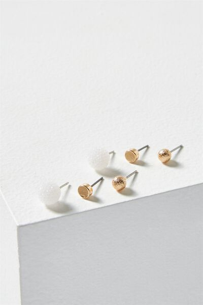 Sophie Core Stud Pack, GOLD