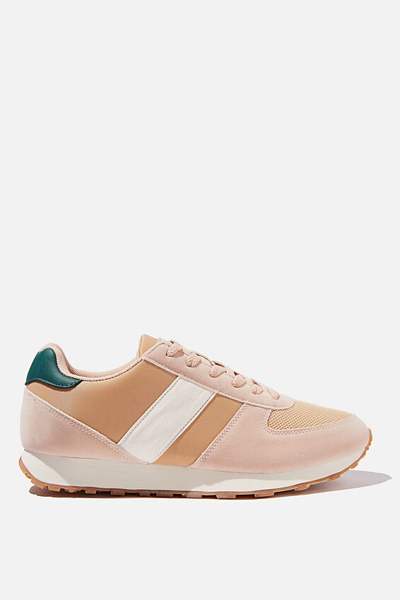 Olympia Heritage Trainer, BLUSH GREEN MULTI