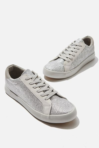 Ally Low Rise, SILVER GLITTER
