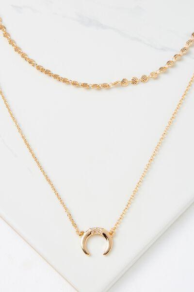 Santiago Necklace, GOLD