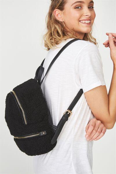 Lola Backpack, TEDDY BLACK
