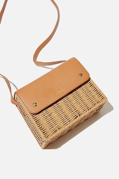Personalised Picnic Bag, NATURAL