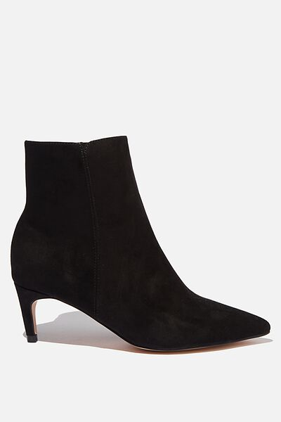 Helena Point Boot, BLACK