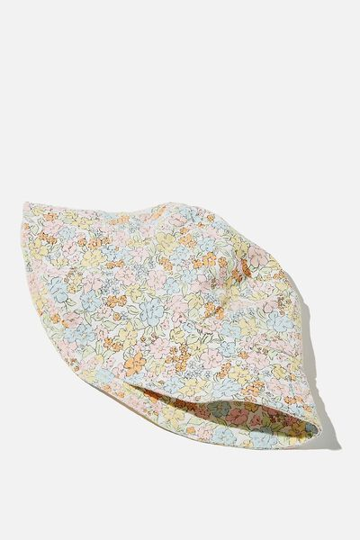 Bianca Bucket Hat, MULTI MAGGIE DITSY FLORAL