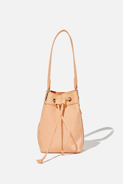 Mini Bucket Bag, SUMMER MANGO