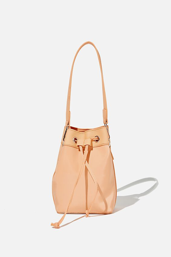 Mini Bucket Bag, SUMMER MANGO