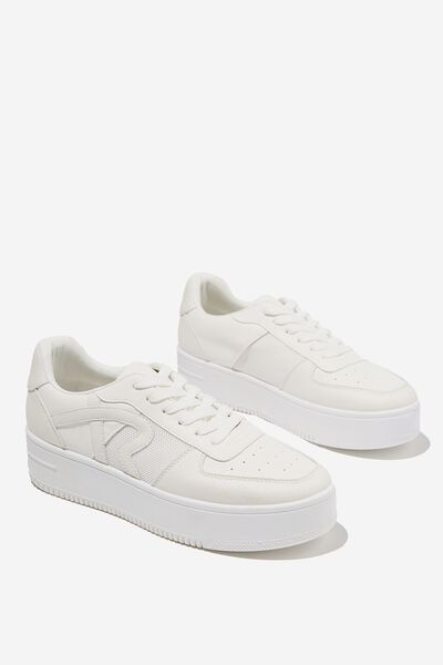 Lexi Platform Sneaker, WHITE MULTI