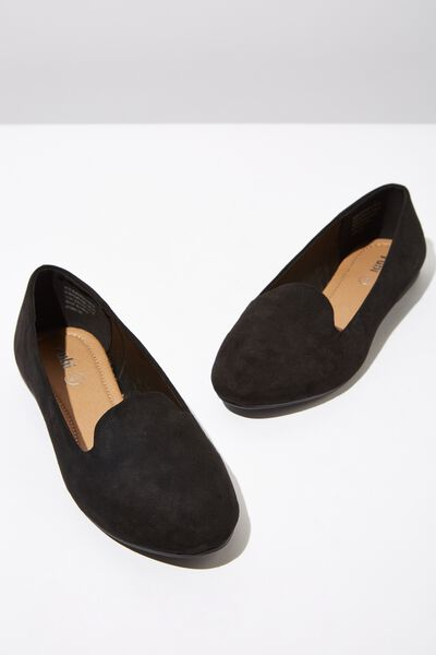 Sophia Slipper, BLACK MICRO