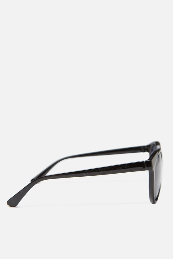 Rollin Round Sunglasses, BLACK/SMOKE