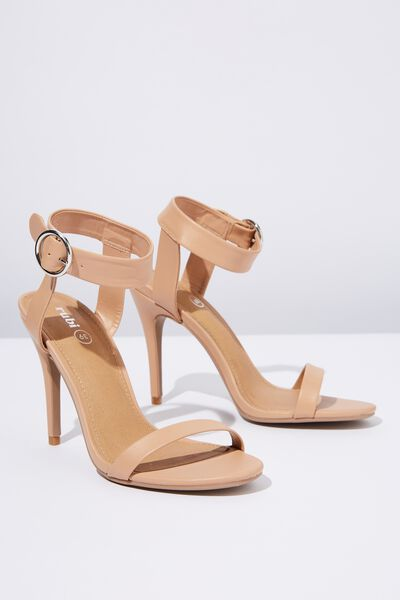 Skylar Stiletto Heel, LIGHT TAUPE SMOOTH