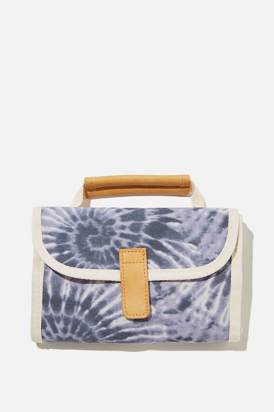 Reusable Lunch Bag, BLUE TIE DYE