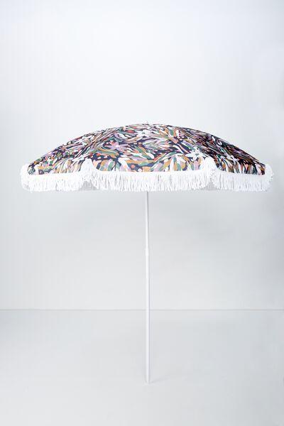 Throwin Shade Umbrella, SKETCHY FLORAL