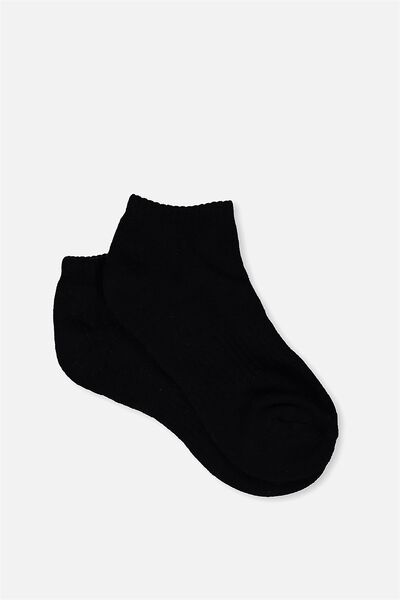 Active Basic Sock, BLACK