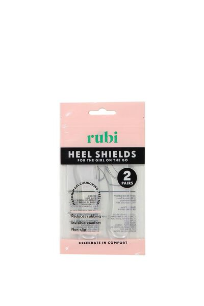 Gel Heel Shields, CLEAR