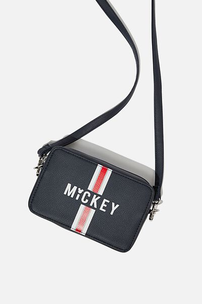 Stevie Boxy Cross Body Bag, LCN MICKEY NAVY/WHITE STRIPE