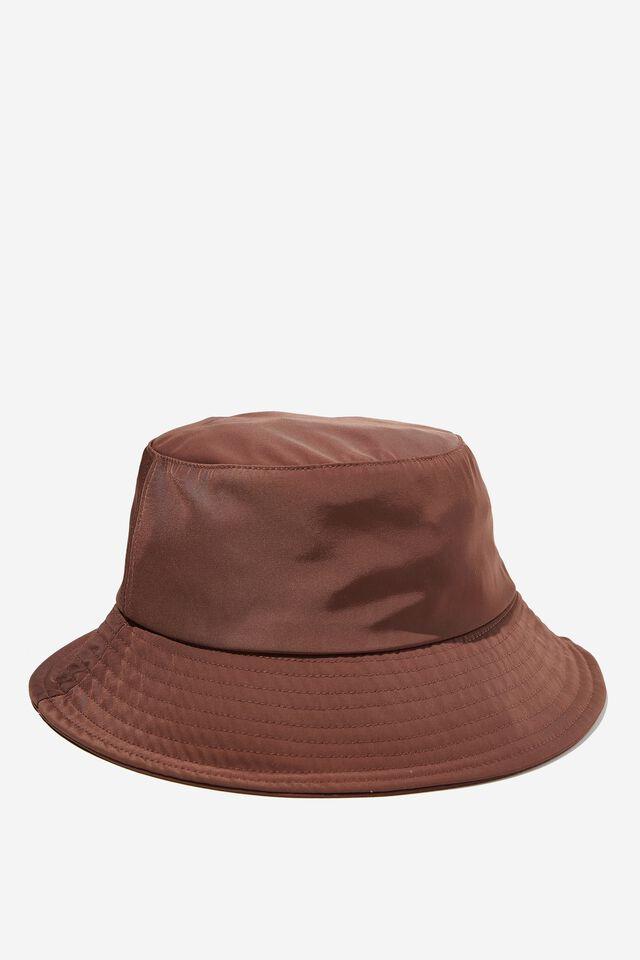 Bianca Bucket Hat, SPORTY SIENNA BROWN