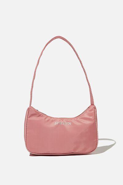 Personalised Nadia Underarm Bag, PETAL PINK