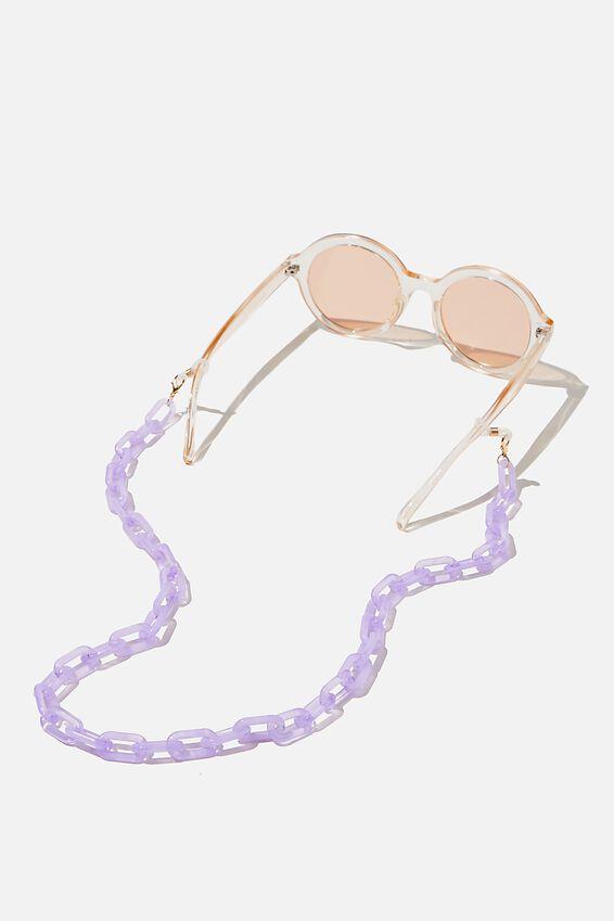 Selina Glasses Chain, LILAC