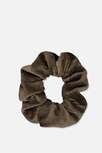 So Me Scrunchie, KHAKI MINI CORD