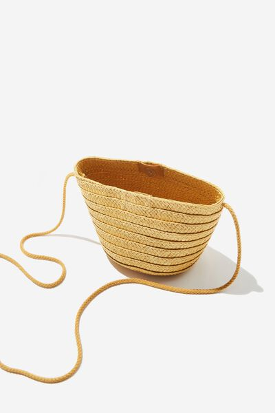 Summer Mini Bag, MUSTARD