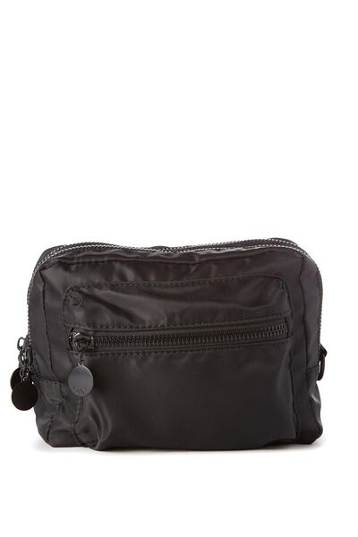 Budapest Large Cosmetic Case, BLACK