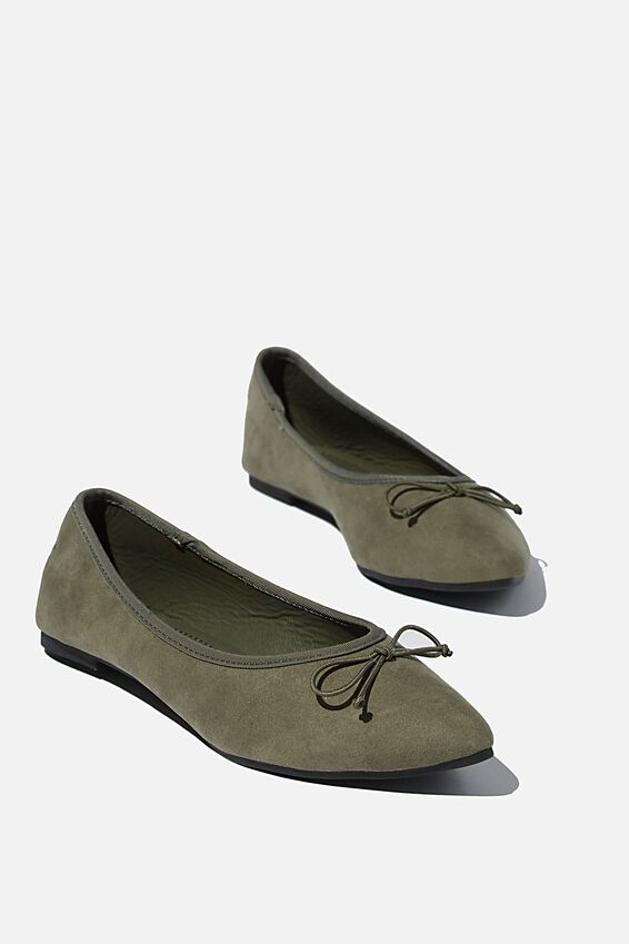 Essential Evelyn Point Ballet, SOFT MOSS MICRO