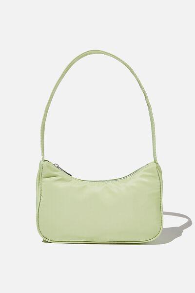 Nadia Underarm Bag, SOFT GREEN
