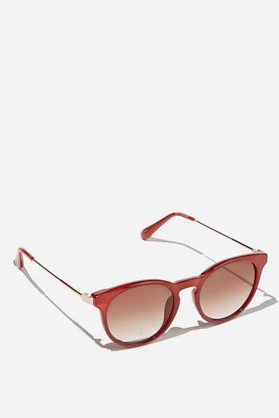 Remi Sunglasses, RUST