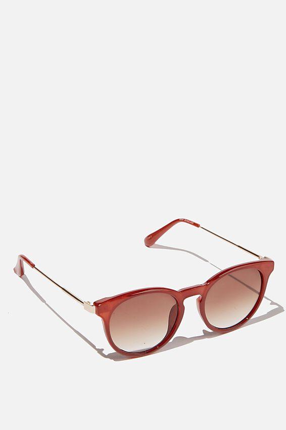 Remi Sunglasses, RUST
