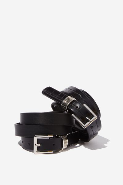 f703bb67b Women's Belts - Canvas & Buckle Belts | Cotton On