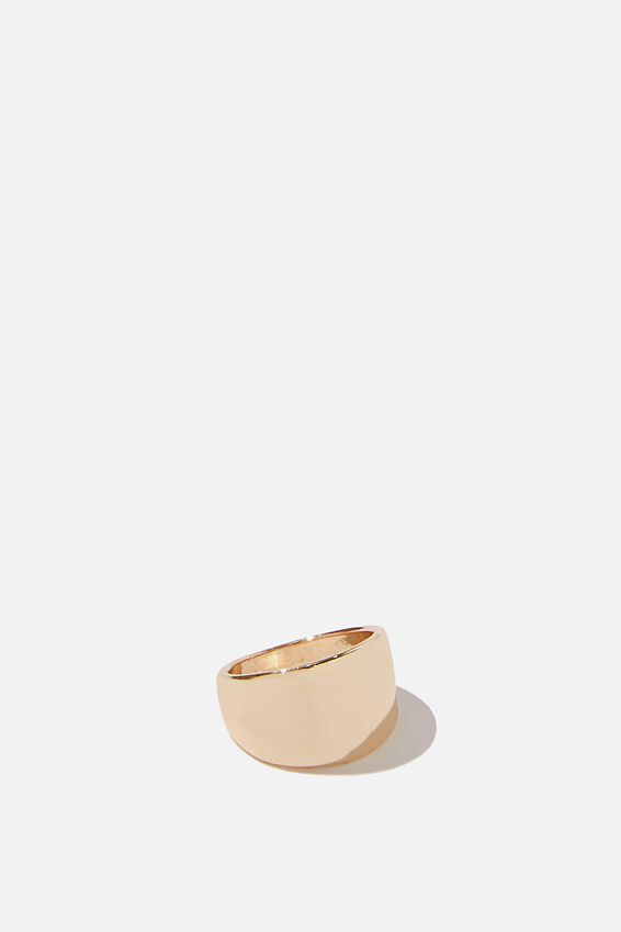 Luxe Layers Minimal Ring, GOLD