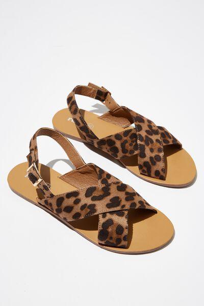 Hazel Slingback Sandal, ANIMAL MICRO
