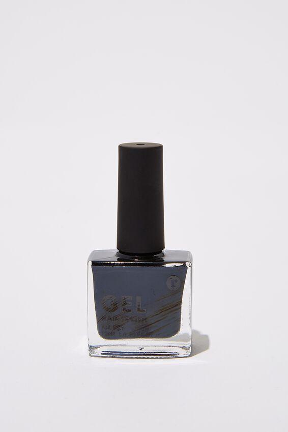 Gel Nail Polish, BLACK