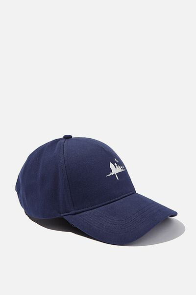 Selina Structured Cap, LCN NAVY SNOOPY