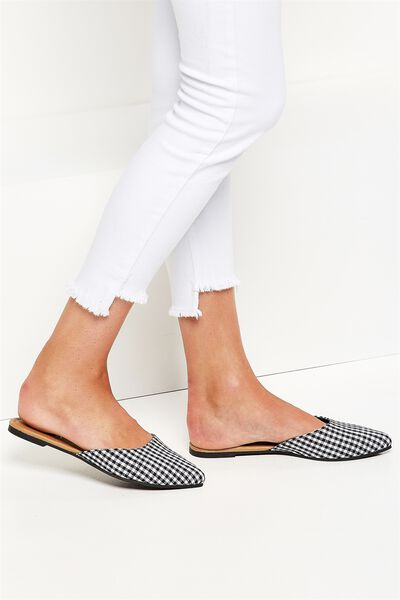 Bella Point Mule, GINGHAM