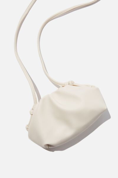 Cara Mini Cross Body Bag, ECRU