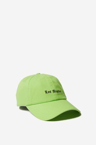 Kaia Cap, GREEN GLOW/LOS ANGELES