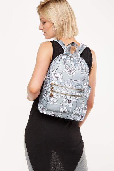 Explorer Backpack, KHAKI FLORAL