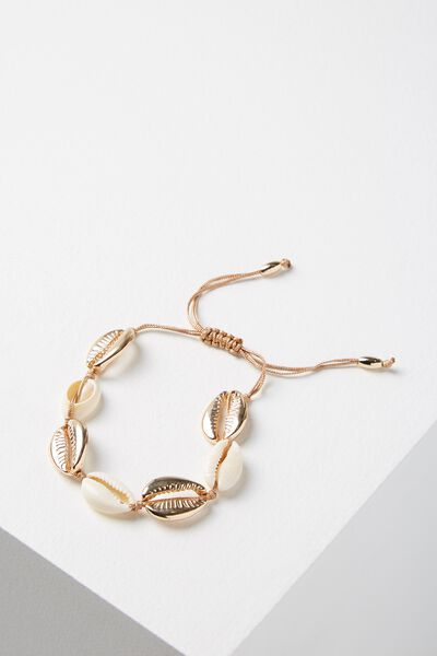 Los Cabos Bracelet, NATURAL/GOLD