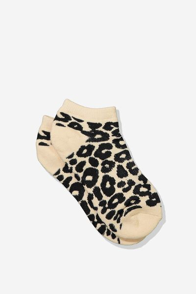 Active Basic Sock, SPLICE LEOPARD